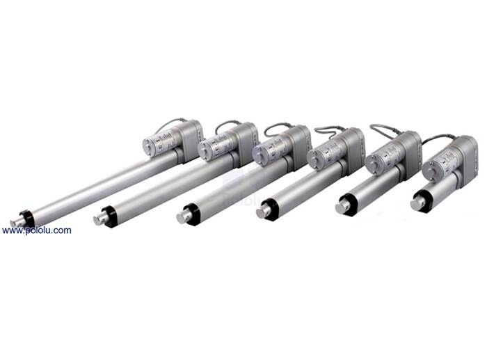 Glideforce LACT2-12V-10 Light-Duty Linear Actuator: 25kgf