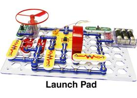 Snap Circuits XP - launch pad