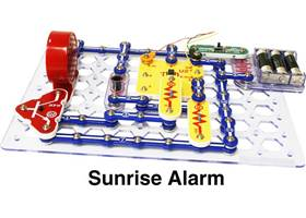Snap Circuits XP - sunrise alarm