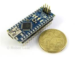 Arduino Nano is Tiny