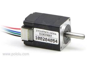 Stepper motor bipolar, 200 steps per rev, 20x30mm, 3.9V, 600mA
