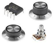 Thumbnail image for Potentiometers & Knobs