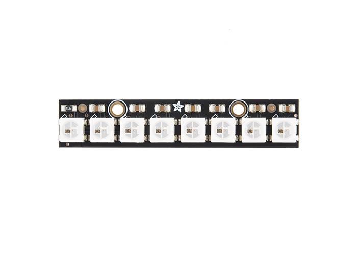 NeoPixel Stick - 8 x WS2812 5050 RGB LED - Robot Gear Australia
