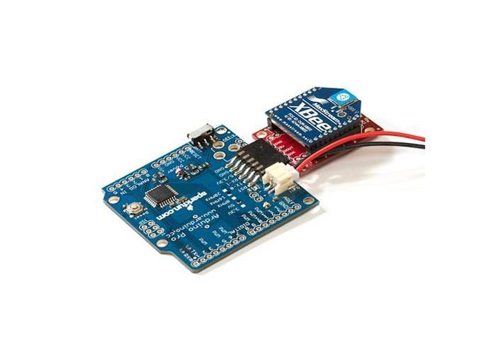 Arduino pro v mhz by sparkfun robot gear australia