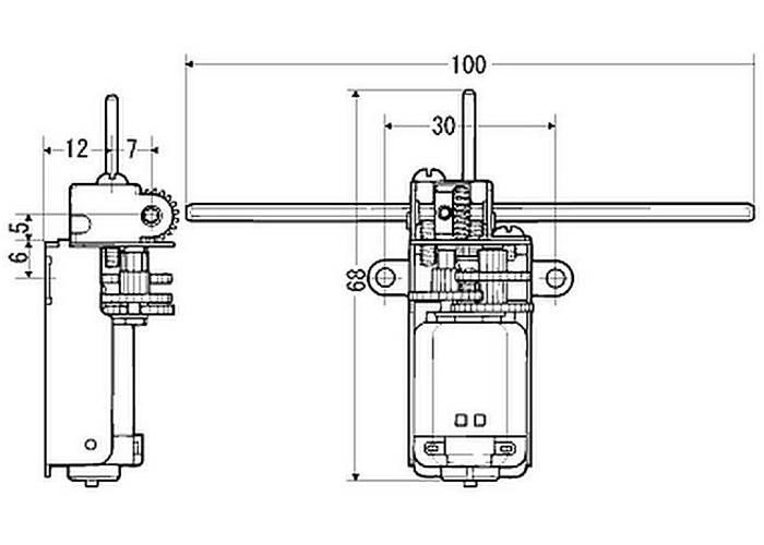Tamiya Universal Gearbox Assembly Kit 70103