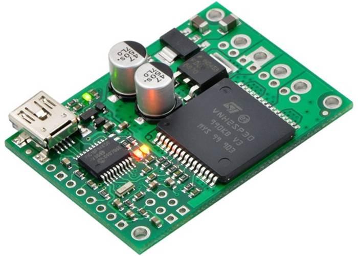 Pololu Jrk 12v12 Usb Motor Controller With Feedback 12amp