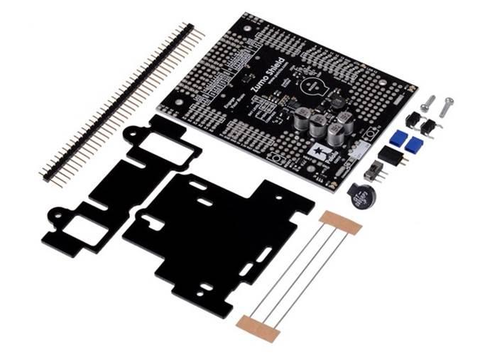Pololu Zumo Robot Kit for Arduino V1 2 (No Motors)