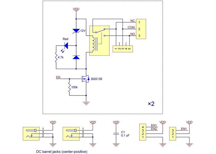 19749_Pololu_basic_2_channel_SPDT_relay_carrier_schematic_diagram Xbee Schematic Diagram on audio schematic, control schematic, rs485 schematic,