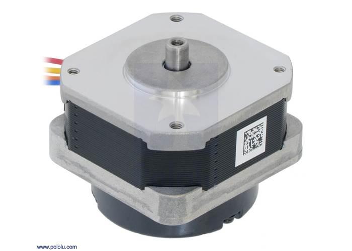 Sanyo Pancake Stepper Motor With Encoder Bipolar Steps Rev Mm V A Phase Cpr Ss Xe