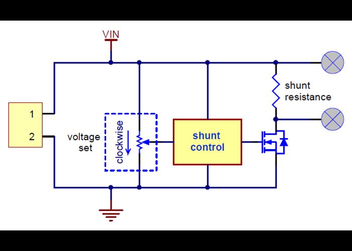 multi turn potentiometer wiring diagram for shunt regulator 26 4v  2 80    15w robot gear australia  shunt regulator 26 4v  2 80    15w robot gear australia