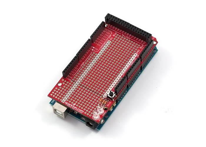 Arduino megashield kit for the mega