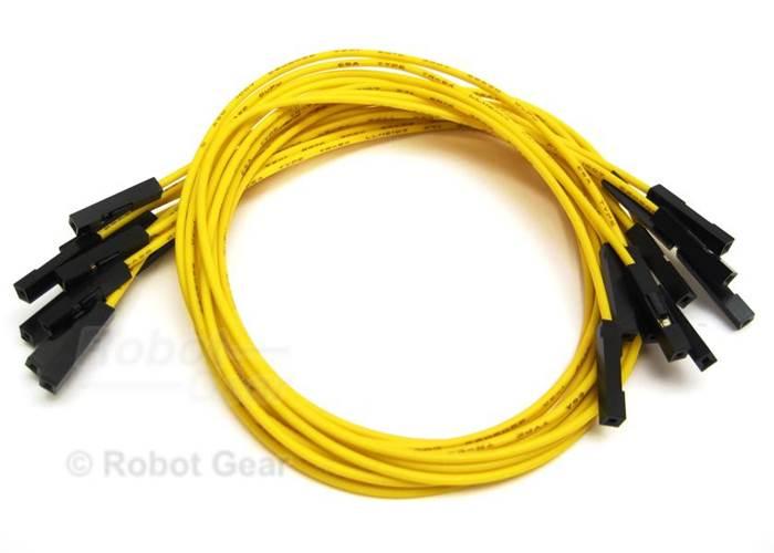 Jumper Wires Female-Female 10 pieces 30cm (12\