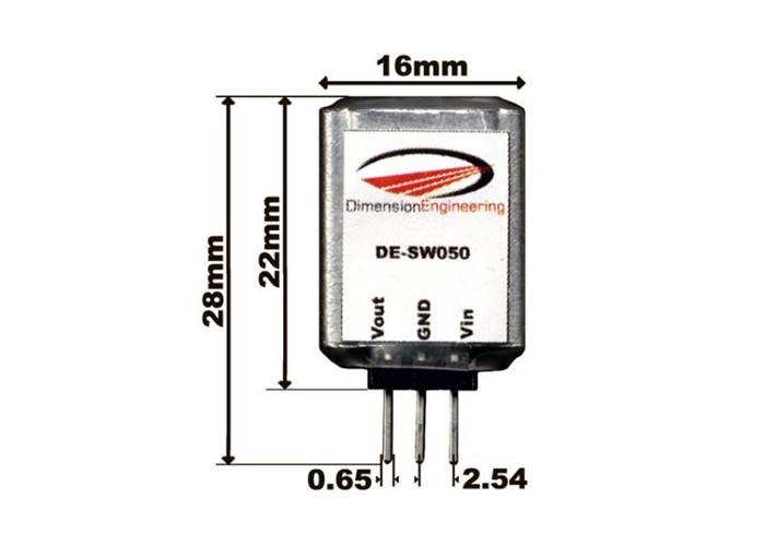 5v  1a switching voltage regulator