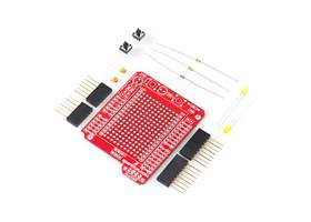 Arduino Protoshield - included parts