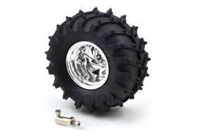 Dagu Wild Thumper wheel with 4mm shaft adaptor