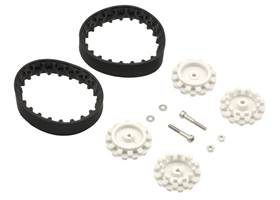 Pololu 22T track set with included hardware