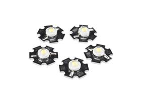 LED - 3W Aluminum PCB (5 Pack, Cool White)