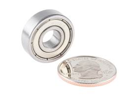 Ball Bearing - Non-Flanged (8mm Bore, 22mm OD, 2 Pack) (3)