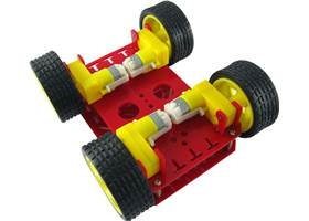 Dagu 4WD Chassis - bottom