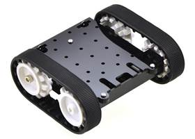 Pololu Zumo chassis kit - assembled with motors