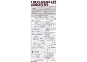 Instructions for Tamiya 70142 Ladder-Chain & Sprocket Set page 1