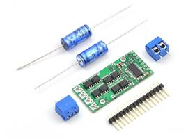 Pololu high-power motor driver with included hardware