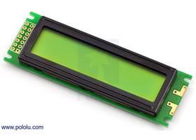 16x2 character LCD (no backlight)