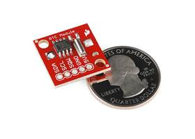 Real Time Clock Module - next to a quarter