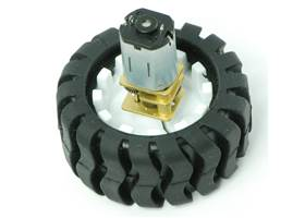 Pololu wheel 42x19mm with micro metal gearmotor