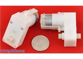 Pololu plastic gearmotor offset output