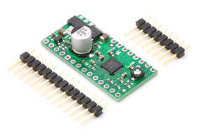 A4983/A4988 stepper motor driver carrier with regulators with included hardware
