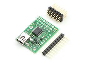 Micro Maestro 6-channel USB servo controller partial kit