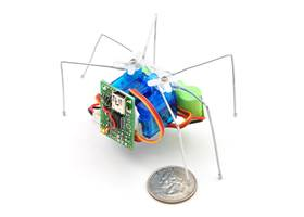 Micro Maestro as the brains of a tiny hexapod robot