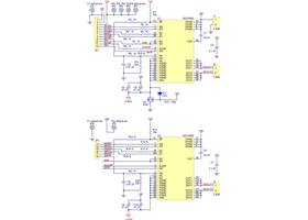 Dual MC33926 motor driver carrier schematic
