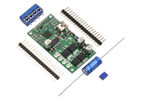 Simple High-Power Motor Controller 18v25 or 24v23 with included hardware