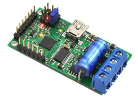 Simple High-Power Motor Controller 18v15 or 24v12, fully assembled