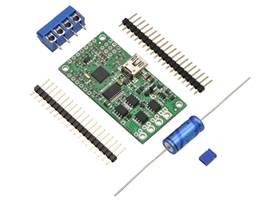 Simple High-Power Motor Controller 18v15 or 24v12, partial kit with included hardware