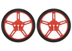Pololu wheel 60x8mm pair – red