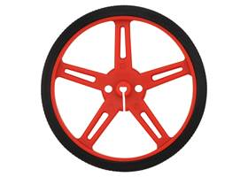 Pololu wheel 70x8mm – red