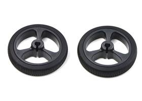 Wheel 32x7mm black pair