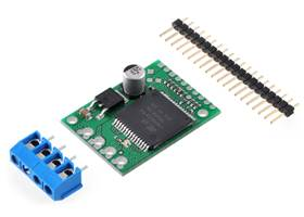 VNH5019 motor driver carrier with included hardware