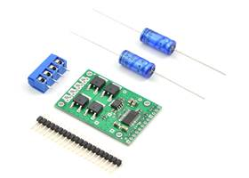Pololu high-power motor driver CS with included hardware