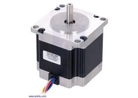 Stepper motor: unipolar/bipolar, 200 steps/rev, 57x56mm, 7.4V, 1 A/phase (SY57STH56-1006)
