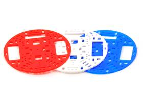 "The Pololu 5"" robot chassis RRC04A is available in a variety of colors"