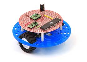 "Pololu 5"" round robot chassis RRC04A with 3pi expansion board"