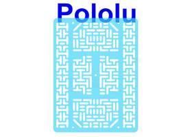 Pololu RP5/Rover 5 expansion plate RRC07B (wide) transparent light-blue