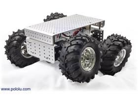 Dagu Wild Thumper 4WD all-terrain chassis, silver