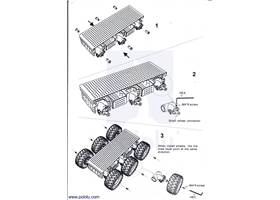 Assembly instructions for the Dagu Wild Thumper 6WD all-terrain chassis