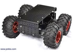 Dagu Wild Thumper 4WD all-terrain chassis, black