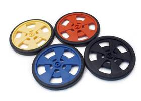 GMPW wheel with silicone tyres